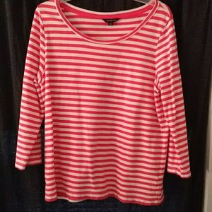 Lands End long sleeved stretch tee
